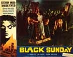 BLACK SUNDAY (1960/Version 1) - 11X14 Lobby Card Reproduction