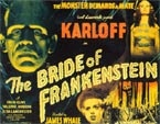 BRIDE OF FRANKENSTEIN (1935 Title Card) - 11X14 Lobby Card Repro