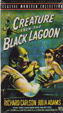 CREATURE FROM THE BLACK LAGOON (1954/Poster Cover) - Used VHS