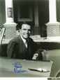ED NELSON - Publicity Pose at Car - Autographed Photo