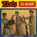 ELVIS - G.I. BLUES - Jumbo Super 8mm Sound Film