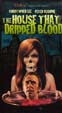 HOUSE THAT DRIPPED BLOOD (1971) - VHS
