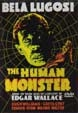 HUMAN MONSTER, THE (1939) - Used DVD