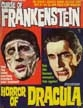 CURSE OF FRANKENSTEIN/HORROR OF DRACULA - Used Magazine