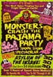 MONSTERS CRASH THE PAJAMA PARTY (Compilation) - VHS