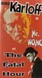 MR. WONG in THE FATAL HOUR (1940) - VHS