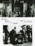 ROBERT DIX (007 Black and White) - Autographed Photo