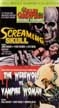 SCREAMING SKULL/WEREWOLF VS. THE VAMPIRE WOMEN - VHS