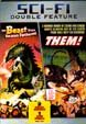 BEAST FROM 20,000 FATHOMS/THEM (Dbl. Feature) - Used DVD