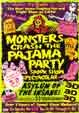 MONSTERS CRASH THE PAJAMA PARTY - Spook Show DVD