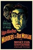 MURDERS IN THE RUE MORGUE (1932) - 11X17 Poster Reproduction