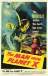MAN FROM PLANET X (1951) - 11X17 Poster Reproduction
