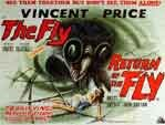 FLY/THE RETURN OF THE FLY - 11X14 Lobby Card Reproduction