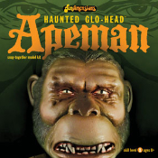HAUNTED GLO-HEAD - APEMAN - Model Kit