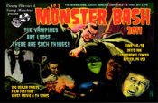 MONSTER BASH COMMEMORATIVE CARD - Promotional Card