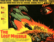 LOST MISSILE - 11X14 Lobby Card Reprocuction