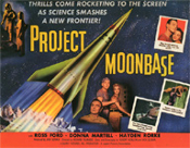 PROJECT MOONBASE - 11X14 Lobby Card Reproduction