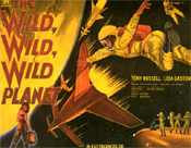 WILD WILD PLANET - 11X14 Lobby Card Reproduction