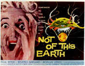 NOT OF THIS EARTH (1957) - 11X14 Lobby Card Reproduction