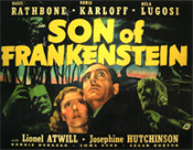 SON OF FRANKENSTEIN (1939/Look) - 11X14 Lobby Card Reproduction