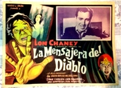 DEVIL'S MESSENGER, THE (1962/Mexico) - Original Lobby Card
