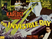 INVISIBLE RAY, THE (1937/RArt) - 11X14 Lobby Card Reproduction