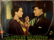 DRACULA'S DAUGHTER (1936 - Holden/Kruger) - 11X14 Lobby Card Rep