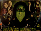 DRACULA'S DAUGHTER (1936 - Collage) - 11X14 Lobby Card Repro