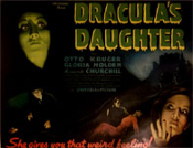 DRACULA'S DAUGHTER (1936 - Title) - 11X14 Lobby Card Repro