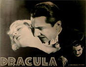 DRACULA (1931/Re-Issue/Bela-Lucy) - 11X14 Lobby Card Repro