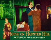 HOUSE ON HAUNTED HILL (1959/Strangle) - 11X14 LC Reproduction