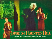 HOUSE ON HAUNTED HILL (1959/Witch) - 11X14 Reproduction