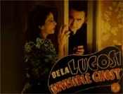 INVISIBLE GHOST (Bela At Door) - 11X14 Lobby Card Reproduction