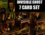 INVISIBLE GHOST (7 Card Set) - 11X14 Lobby Card Reproductions