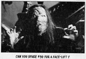 YOU'LL DIE LAUGHING (1973 Series) #44 - Trading Card