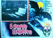 BLOODY VAMPIRE, THE (1962) - Original Mexican Lobby Card