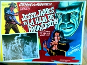 JESSE JAMES MEETS FRANKENSTEIN'S DAUGHTER - Original Mex Lobby