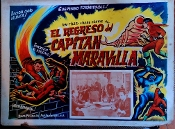 ADVENTURES OF CAPTAIN MARVEL (1941) - Ori. Mex. Lobby Card