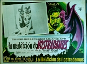 CURSE OF NOSTRADAMUS (1960) - Original Mexican Lobby Card