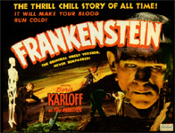 FRANKENSTEIN (1931/Real Art Version) - 11 X 14 Lobby Card Repro