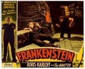 FRANKENSTEIN (1931/Fritz Torments) - 11 X 14 Lobby Card Repro