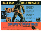 SNOW CREATURE (1954) - Lobby Card Reproduction