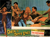 QUEEN OF OUTER SPACE (1958) - 11X14 Lobby Card Reproduction