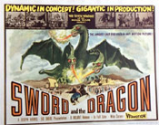 SWORD AND THE DRAGON (Title Lobby Card) - 11X14 Original