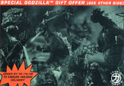 GODZILLA PRINT PROMO CARD - 4x6 inch Collectible Card