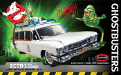 GHOSTBUSTERS ECTO-1 (All New Slimer Figure Included) - Model Kit