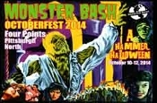 MONSTER BASH OCTOBER 2014 - Promo Card
