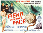 FIEND WITHOUT A FACE (Title Card) - 11X14 Lobby Card Repro