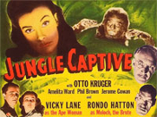 JUNGLE CAPTIVE (1945/Title Card) - 11X14 Lobby Card Reproduction