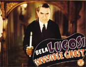 INVISIBLE GHOST (Bela Candle) - 11X14 Lobby Card Reproduction